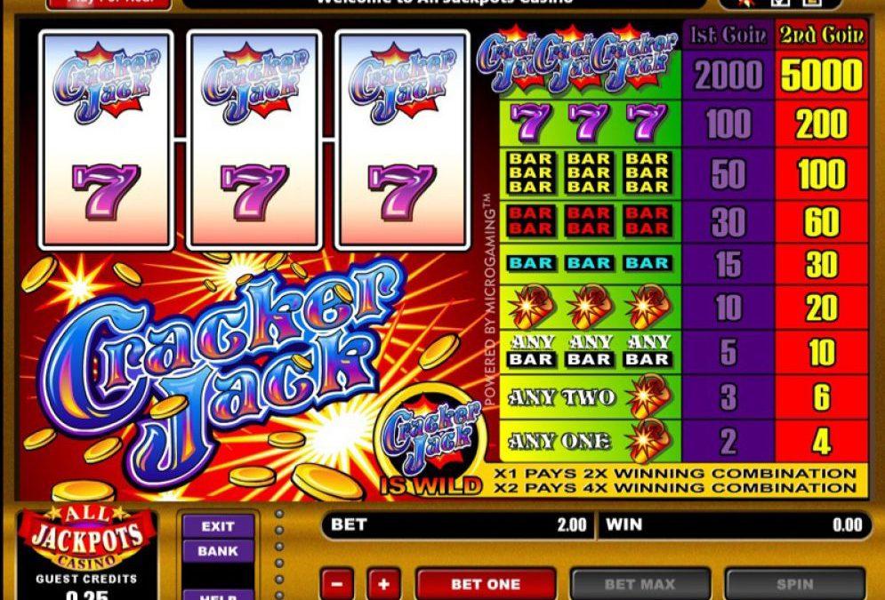 Cracker Jack- A Lovable Game