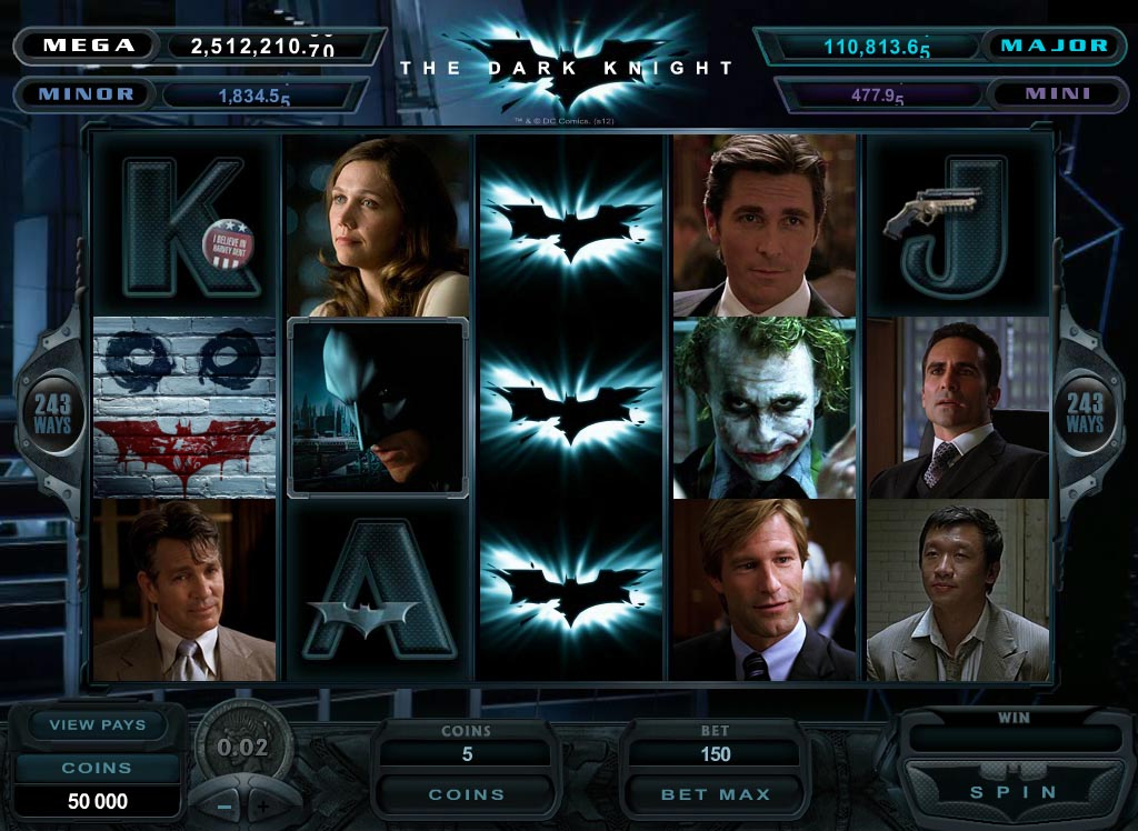 The dark knight – play it the batman style
